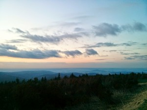 Sonnenuntergang@Fichtelberg